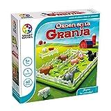 smart games- Orden en la Granja Educativo, Juegos de Mesa Infantiles, niños, smartgames, Juguete Puzzle para pequeños, Multicolor (Lúdilo SG091ES)