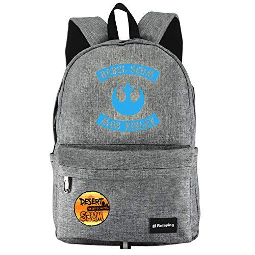 Unisex SCUM Mode Rucksäcke Gedruckte Sport Outdoor Wasserdicht Daypack Schüler Daypacks mit USB Charging Port für Wandern/Reisen/Camping