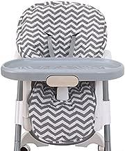 NoJo High Chair Cover Pad – Chevron Gray