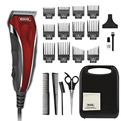 Wahl Clipper Compact Multi-Purpose Haircut, Beard & Body Grooming Hair Clipper & Trimmer with Extreme Power & Easy Clean Blades - Model 79607