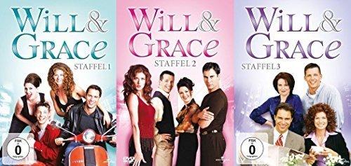 Will & Grace - Staffeln 1-3 (12 DVDs)