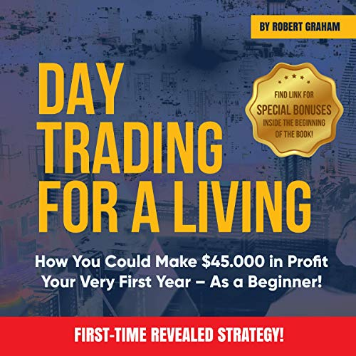 Day Trading for a Living audiobook cover art