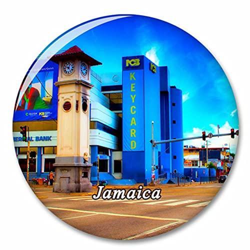Jamaica Imán de Nevera, imánes Decorativo, abridor de Botellas, Ciudad turística, Viaje, colección de Recuerdos, Regalo, Pegatina Fuerte para Nevera