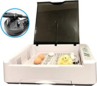 ديكيل ديجيتال حاضنات البيض عقد 36 البيض التلقائي الدواجن للدجاج البط الطيور السمان البيض التلقائي الدوران البيض
