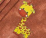 Panel Jersey Jeans Look - Babytiere Giraffe BioBunt
