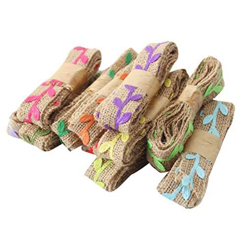 ABOOFAN Rollo de lino para boda, para decoración de novia, de encaje,...