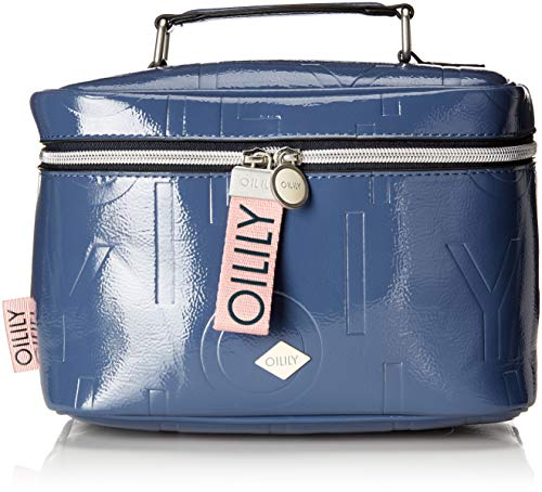 Oilily Damen Brightly Washbag Mhz Taschenorganizer, Blau (Blue), 13x17x24 cm