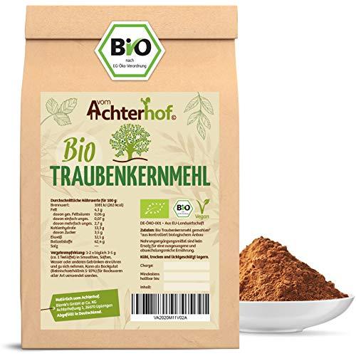 Traubenkernmehl Bio (250g) Traubenkern-Pulver vom-Achterhof