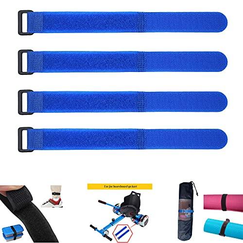 LIBRNTY 70cm Velcro Amarre,Hoverboard Accesorios,Overboard Accesorios,para 6.5 Pulgadas Auto Equilibrio Scooter,Atar mangueras, Paraguas,Cajas de Embalaje, Libros, Herramientas, etc.
