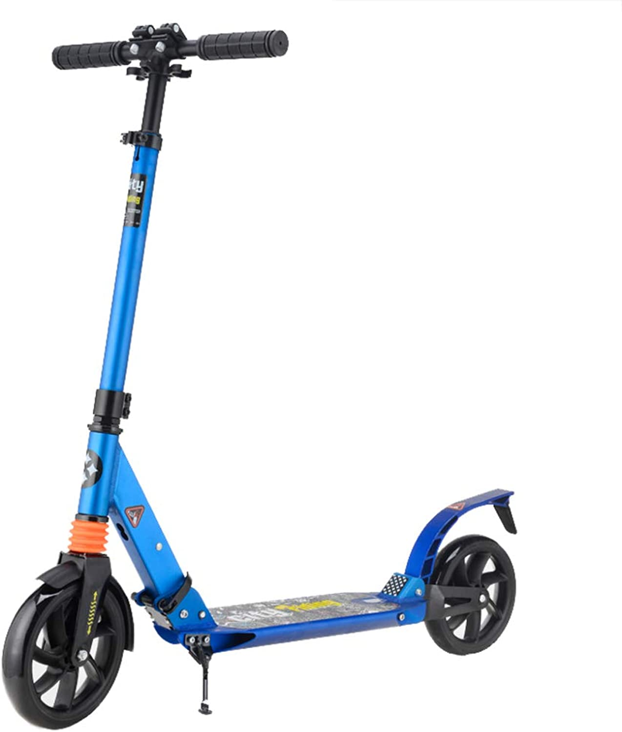Kick Scooters for Adults Foldable for Youth Teens Older Kids 2 Wheel Adjustable Portable UltraLightweightwith Kick Stand Support 220 Lb