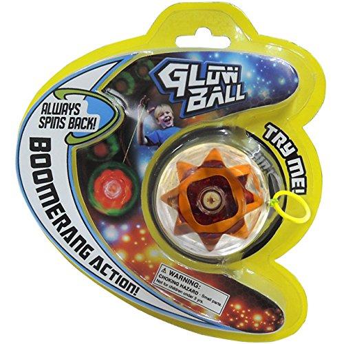 Prime Time Toys 2066 Glow Ball Light-Up Auto-Return Yo-Yo Toy