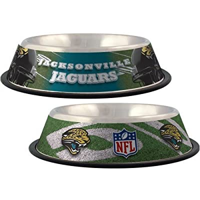 Jacksonville Jaguars NFL Team Dog Bowl