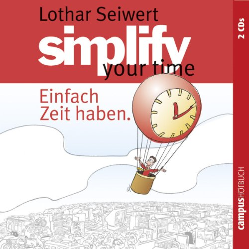 Simplify your time audiobook cover art