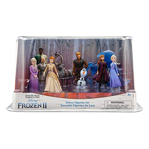 Frozen 2 Disney Deluxe Figurine Playset Action Figures 10 Piece Figure Set