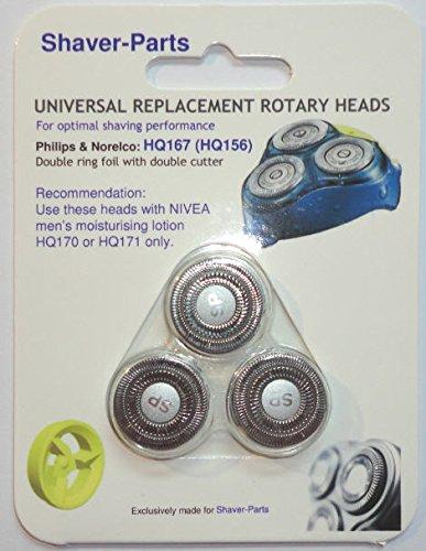 Cabezales de afeitado Philips Alternative modelo HQ167 & HQ156 ...