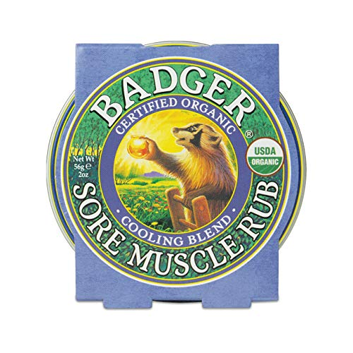 Badger Sore Muscle Rub Refroidissement Blend / 2 oz