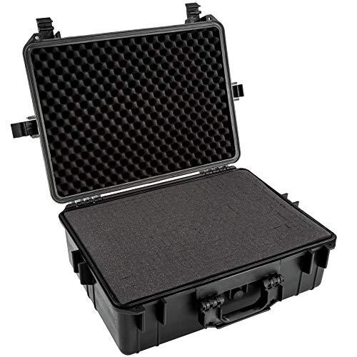 TecTake 402412 TecTake Valigetta per macchina fotografica con volume 35 litri, 4 cuscini in gommapiuma