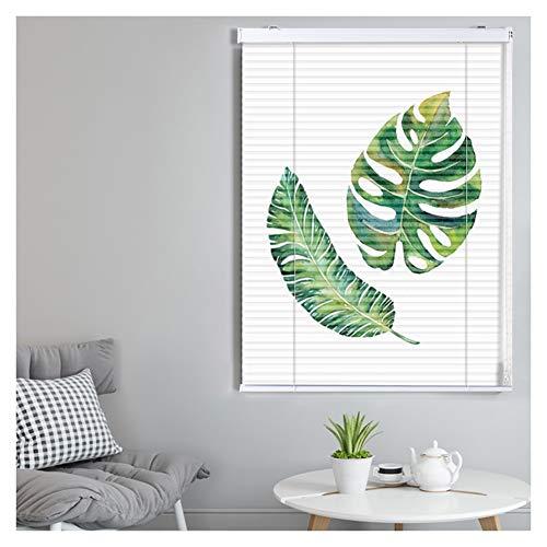 CHAXIA Jaloezieën Bamboe blind blinds venster vouwjaloezieën Jane over aluminiumlegering gordijn licht afdekken tegen de zon parels trekken trekken, 2 soorten
