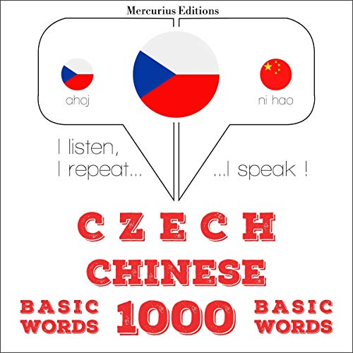 Czech – Chinese. 1000 basic words cover art