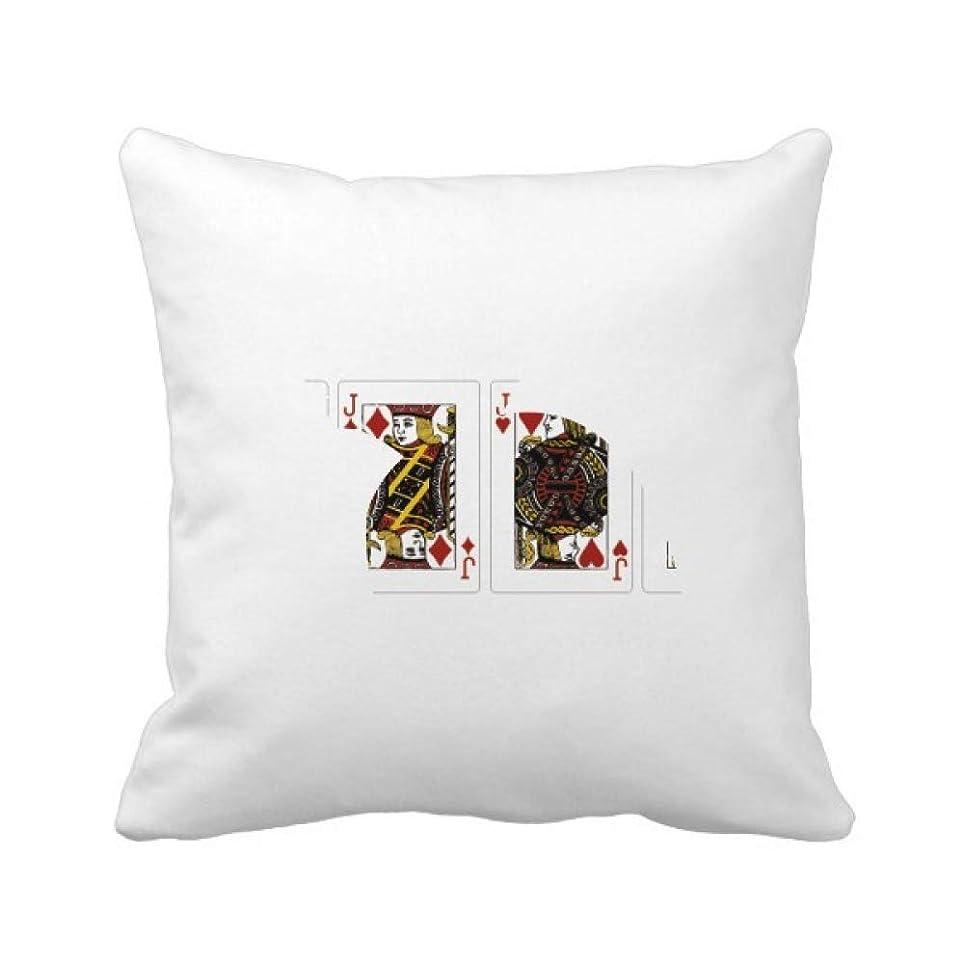 リングバックピース策定するカードのギャンブルチップパターン遊び道具 パイナップル枕カバー正方形を投げる 50cm x 50cm