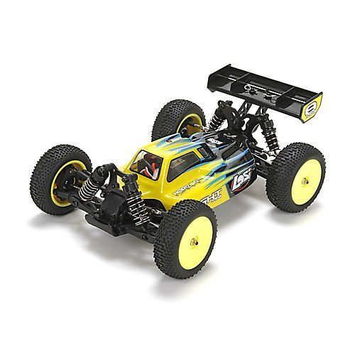 Mini 8IGHT RTR, AVC, Black: 1/14 4WD Buggy by Losi