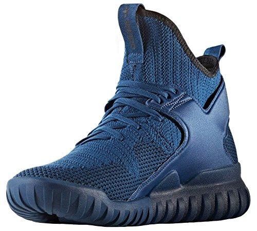 adidas Herren Tubular X Pk Gymnastikschuhe, Blau Tecste/Cblack, 41 1/3 EU