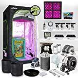 Grow at Home Made Easy -Turn-Key Solution! w/Growing LED Light Unit...