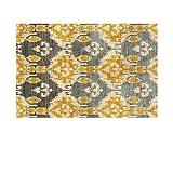 GH-YS Alfombras Salas de Estar alfombras marroquíes dormitorios bereberes Modernos alfombras Marrones alfombras de salón Grandes alfombras geométricas decoración de la habitación de los niños pati