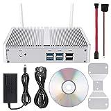 ASHATA Computer Host,H2-I5-4200Y SIN Almacenamiento NO RAM Mini PC Host de computadora para Intel Dual Core Solo un Orificio de luz indicadora soporta Salida 4K de Doble frecuencia(EU)