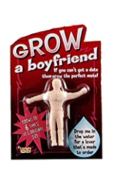 Add water, grows to 6-times original size 2-inches to approximately 12-inches Begins to grow in 2 hours, reaches full size in 72 hours Dry him out; use him again It's not pretend when you grow the perfect friend Look to Forum Novelties for coordinati...