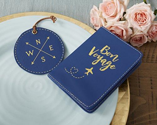 Kate Aspen Bon Voyage Getaway Geschenkset, Reisepasshülle und Gepäckanhänger