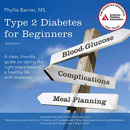 Type 2 Diabetes for Beginners, 2nd Edition audiobook cover art