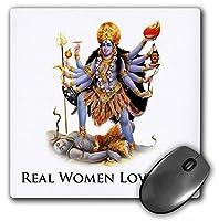 3drose 8x 8x 0.25インチマウスパッド、Real Women Love Kali ( MP _ 149832_ 1)