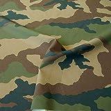 TOLKO Leichter Camouflage Stoff aus Nylon im Flecktarn der