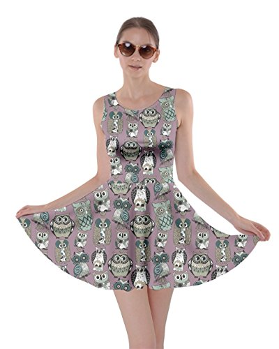Owl Themed Casual Dress