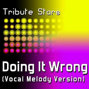 Drake - Doing It Wrong (Vocal Melody Version)