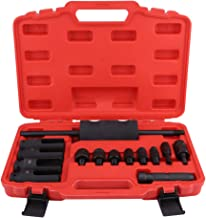 Diesel Injector Extractor, 14pcs Common Rail Injector Remover Tool Kit with Slide Hammer for Car Puller Injection Repairing