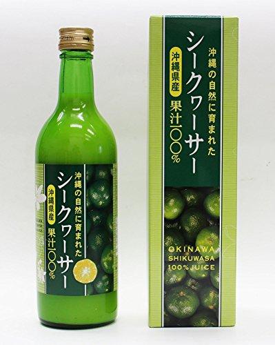 沖縄の自然に育まれたシークヮーサー沖縄県産果汁100%3本セット