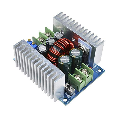 GoolRC 300W 20A DC-DC Buck Converter Módulo Reductor DC 6-40V a DC 1.2-36V Voltaje Ajustable Módulo de Corriente Constante Condensador Electrolítico