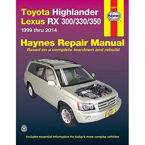 2018 toyota highlander factory service manual
