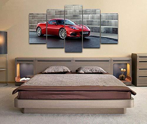 72Tdfc Decoracion De Pared Cartel para Sala De Estar Moderno HD Impreso 5 Paneles Pared Arte Hogar Decoracion Lienzo Pinturalotus Evora Gt410 2020 Coche