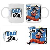 The Good Gift - Dragon Ball Z - Tazza 320ml - Family & Friends - Dad And Son