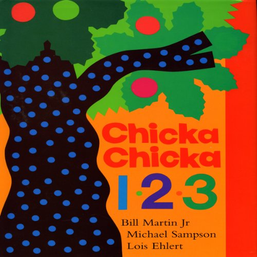 Chicka, Chicka 1,2,3 audiobook cover art