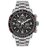 Men's Citizen Eco-Drive Promaster Skyhawk A-T Chronograph Titanium Watch JY8108-53E