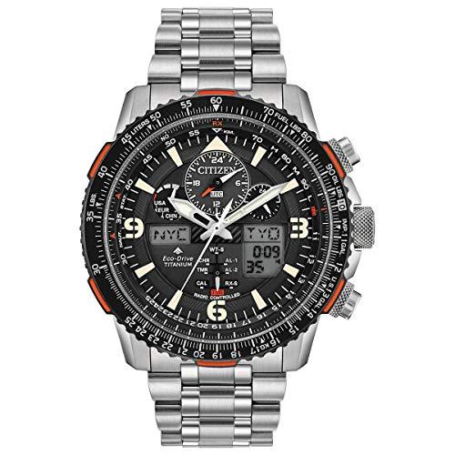 Citizen Eco-Drive Promaster Skyhawk A-T Reloj cronógrafo de titanio JY8108-53E para hombre