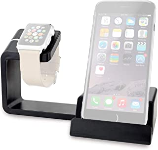 Cygnett OnCharge Duo Charging Stand Station For Apple Watch and Smartphones (iPhone 11/11Pro/Pro Max/Xs/XsMax/XR/6/7 /X/S...