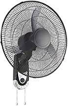 Geepas 18-Inch Table Fan 60W | 3 Speed Settings with Oscillating/Rotating and Static Feature | Electric Wall Mount Cooling...