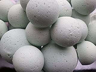 Spa Girl 14 Bath Bomb Fizzies with Shea Butter, Ultra Moisturizing (12 Oz) ...Great for Dry Skin (Sweet Pea)