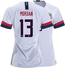 Elvnby Women's Morgan Jersey USA 13 Soccer Home Alex