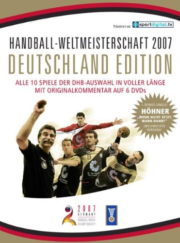 Handball WM 2007 - Deutschland Edition (6 DVDs + Höhner CD-Single)